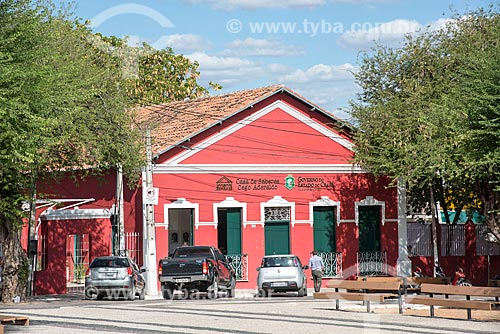Fachada da Casa de Saberes Cego Aderaldo  - Quixadá - Ceará (CE) - Brasil