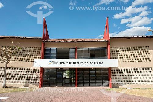 Fachada do Centro Cultural Rachel de Queiroz  - Quixadá - Ceará (CE) - Brasil