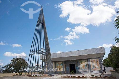 Fachada do Santuário de Nossa Senhora Imaculada Rainha do Sertão (1995)  - Quixadá - Ceará (CE) - Brasil
