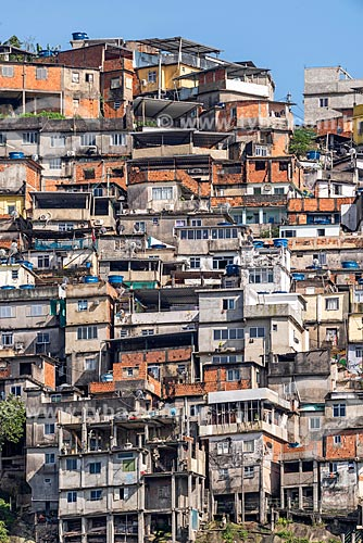 Vista do Morro dos Prazeres  - Rio de Janeiro - Rio de Janeiro (RJ) - Brasil