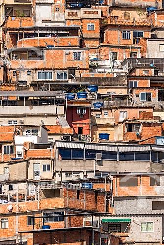 Vista da Favela do Cerro Corá  - Rio de Janeiro - Rio de Janeiro (RJ) - Brasil