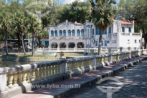 Casario no Parque da liberdade - também conhecido como Cidade das Crianças  - Fortaleza - Ceará (CE) - Brasil