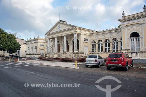 Fachada da Estação João Felipe (1880) - também conhecida como Estação Central  - Fortaleza - Ceará (CE) - Brasil