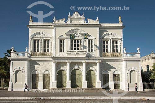 Fachada do Teatro José de Alencar (1910)  - Fortaleza - Ceará (CE) - Brasil