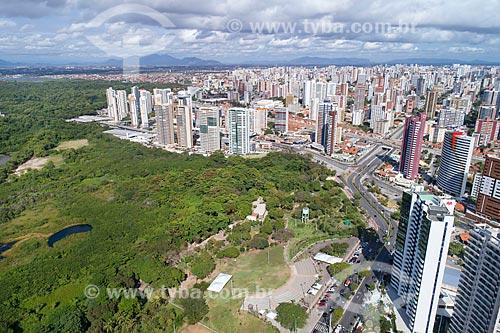 Foto feita com drone do Parque Ecológico do Rio Cocó  - Fortaleza - Ceará (CE) - Brasil