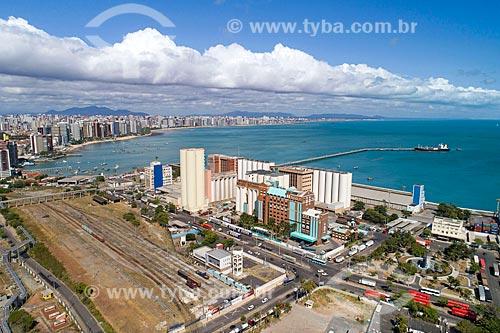 Foto feita com drone do Porto do Mucuripe  - Fortaleza - Ceará (CE) - Brasil