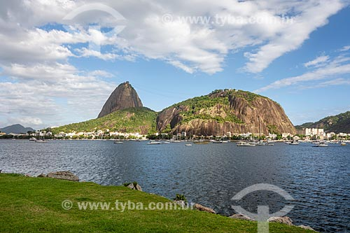 Vista do Pão de Açúcar a partir do Aterro do Flamengo  - Rio de Janeiro - Rio de Janeiro (RJ) - Brasil