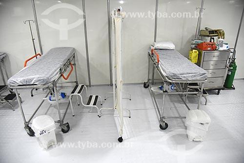Interior do posto médico do evento Garota VIP  - Rio de Janeiro - Rio de Janeiro (RJ) - Brasil