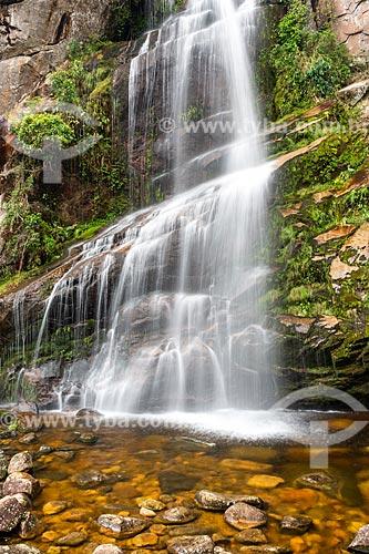 Cachoeira Véu da Noiva no Parque Nacional da Serra dos Órgãos  - Petrópolis - Rio de Janeiro (RJ) - Brasil