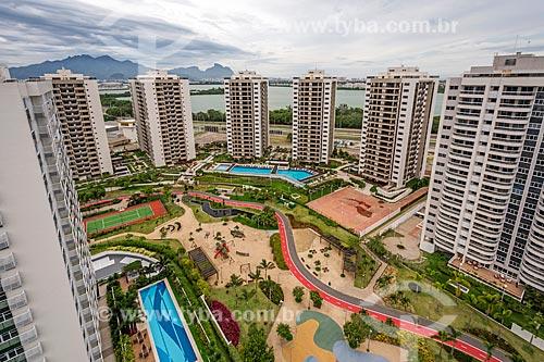 Condomínio Residencial Ilha Pura Vila dos Atletas - edifícios onde os atletas se hospedaram durante os Jogos Olímpicos - Rio 2016  - Rio de Janeiro - Rio de Janeiro (RJ) - Brasil