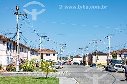 Casas no Conjunto Residencial Carlos Marighella  - Maricá - Rio de Janeiro (RJ) - Brasil