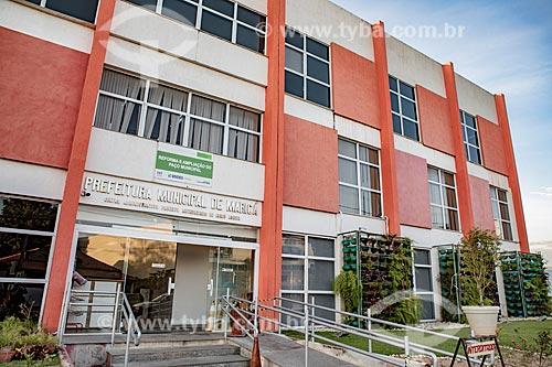 Fachada da Prefeitura da cidade do Maricá  - Maricá - Rio de Janeiro (RJ) - Brasil