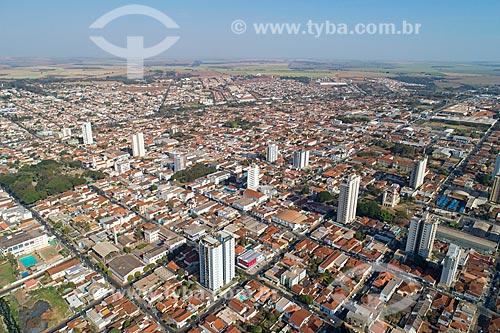 Foto feita com drone da cidade de Jaboticabal  - Jaboticabal - São Paulo (SP) - Brasil