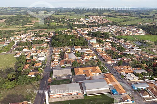 Foto feita com drone do centro de Corumbataí  - Corumbataí - São Paulo (SP) - Brasil