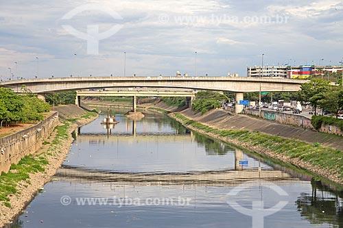 Trecho do Rio Tietê  - São Paulo - São Paulo (SP) - Brasil