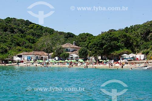 Banhistas na Praia da Azeda   - Armação dos Búzios - Rio de Janeiro (RJ) - Brasil