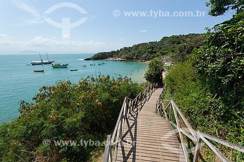 Passarela de acesso a Praia da Azeda  - Armação dos Búzios - Rio de Janeiro (RJ) - Brasil