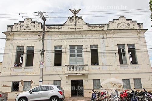 Fachada do Colégio Estadual João Fernandes de Britto  - Propriá - Sergipe (SE) - Brasil