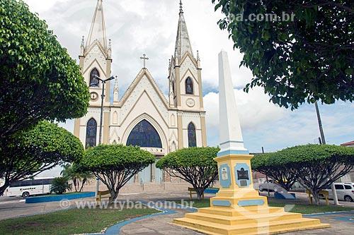 Fachada da Igreja Matriz de Santo Antônio (1718)  - Propriá - Sergipe (SE) - Brasil