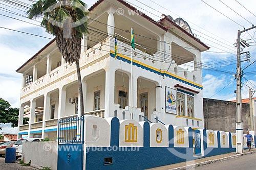 Fachada da Prefeitura da cidade de Propriá  - Propriá - Sergipe (SE) - Brasil