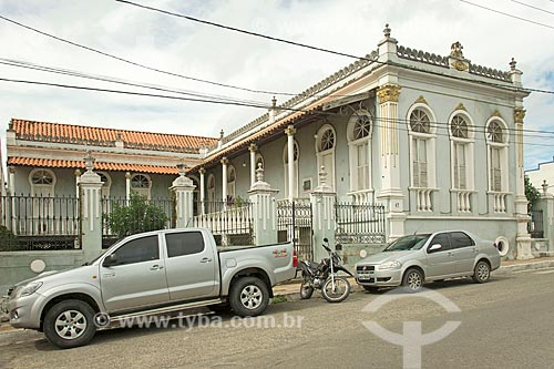 Fachada de casario na cidade de Propriá  - Propriá - Sergipe (SE) - Brasil