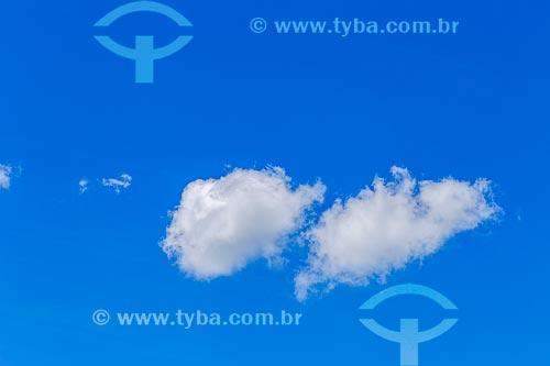 Detalhe de nuvem  - Guarani - Minas Gerais (MG) - Brasil