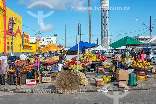 Feira livre na cidade de Aracaju  - Aracaju - Sergipe (SE) - Brasil
