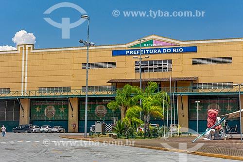 Barração do Grêmio Recreativo Escola de Samba Estação Primeira de Mangueira na Cidade do Samba Joãozinho Trinta (2006)  - Rio de Janeiro - Rio de Janeiro (RJ) - Brasil