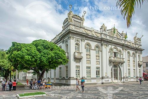 Fachada do Palácio Olímpio Campos (1863) - antiga sede do Governo do Estado  - Aracaju - Sergipe (SE) - Brasil